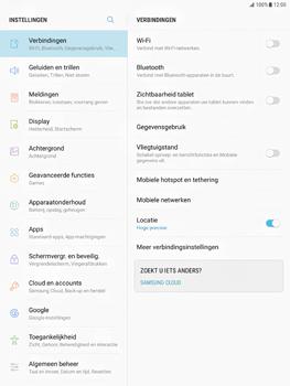 Samsung Galaxy Tab S2 9.7 - Android Nougat - Buitenland - Bellen, sms en internet - Stap 4