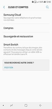 Samsung Galaxy A6 - Données - créer une sauvegarde avec votre compte - Étape 5
