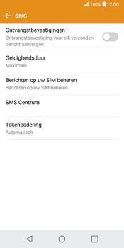 LG Q6 (M700) - SMS - SMS-centrale instellen - Stap 10