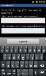 Samsung I9100 Galaxy S II - E-mail - e-mail instellen: IMAP (aanbevolen) - Stap 15