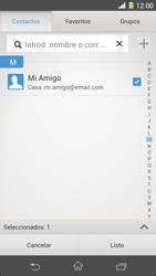 Sony Xperia Z1 - E-mail - Escribir y enviar un correo electrónico - Paso 7