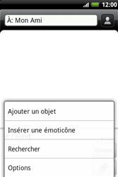 HTC A510e Wildfire S - MMS - envoi d'images - Étape 7