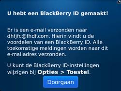 BlackBerry 9720 Bold - BlackBerry activeren - BlackBerry ID activeren - Stap 14