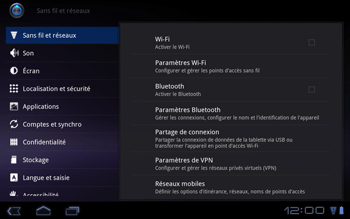 Huawei Mediapad S7-301u - Internet - Configuration manuelle - Étape 5