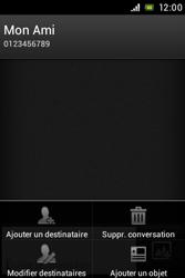 Sony ST23i Xperia Miro - Mms - Envoi d