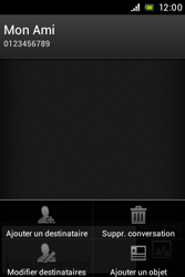 Sony ST23i Xperia Miro - MMS - envoi d'images - Étape 8