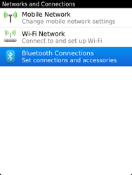 BlackBerry 9810 Torch - Bluetooth - Pair with another device - Step 5
