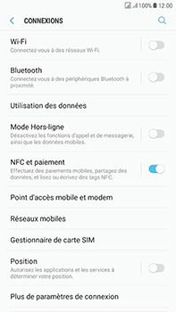 Samsung J730F Galaxy J7 (2017) (DualSIM) - Internet - activer ou désactiver - Étape 5
