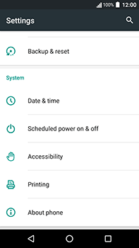 Acer Liquid Zest 4G Plus - Device - Software update - Step 5