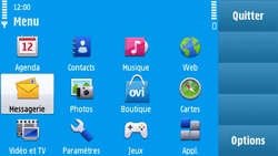 Nokia N97 - E-mail - envoyer un e-mail - Étape 2