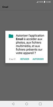 LG V30 - E-mail - Configuration manuelle - Étape 22