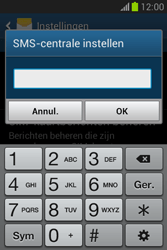 Samsung S6790 Galaxy Fame Lite - SMS - handmatig instellen - Stap 7