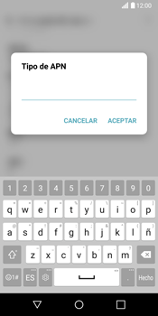 LG G6 - Mensajería - Configurar el equipo para mensajes multimedia - Paso 13