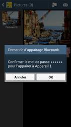 Samsung Galaxy S4 - Photos, vidéos, musique - Envoyer une photo via Bluetooth - Étape 13