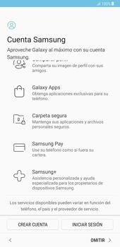 Samsung Galaxy Note 8 - Primeros pasos - Activar el equipo - Paso 16