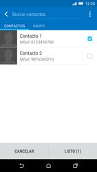 HTC One M9 - Mensajería - Escribir y enviar un mensaje multimedia - Paso 8
