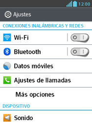 LG Optimus L3 II - Internet - Activar o desactivar la conexión de datos - Paso 4