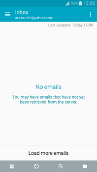 Samsung N910F Galaxy Note 4 - E-mail - Manual configuration (yahoo) - Step 4
