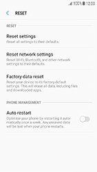 Samsung Galaxy J3 (2017) - Device - Factory reset - Step 7