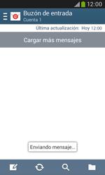 Samsung S7580 Galaxy Trend Plus - E-mail - Escribir y enviar un correo electrónico - Paso 19