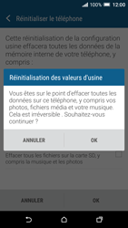 HTC One A9 - Aller plus loin - Restaurer les paramètres d'usines - Étape 7