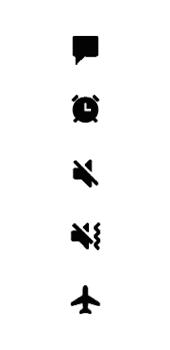 Samsung Galaxy A6 - Premiers pas - Comprendre les icônes affichés - Étape 20