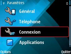 Nokia E71 - Internet - configuration manuelle - Étape 6