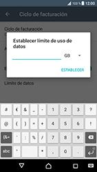 Sony Xperia XZ - Android Nougat - Internet - Ver uso de datos - Paso 11