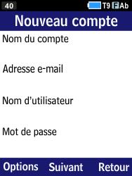 Samsung B550H Xcover 550 - E-mail - Configuration manuelle - Étape 6