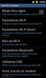 Samsung I8160 Galaxy Ace II - Wifi - configuration manuelle - Étape 4