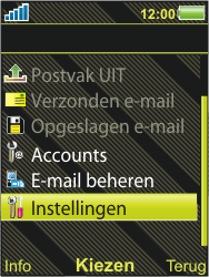Sony Ericsson W995 - E-mail - handmatig instellen - Stap 12