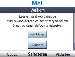 Nokia Asha 201 - E-mail - e-mail instellen: POP3 - Stap 4