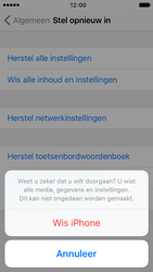 Apple iPhone 5c iOS 9 - Resetten - Fabrieksinstellingen terugzetten - Stap 7