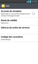 LG P710 Optimus L7 II - SMS - configuration manuelle - Étape 9