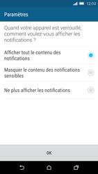 HTC One M9 - Sécuriser votre mobile - Activer le code de verrouillage - Étape 11