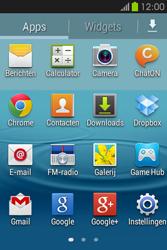 Samsung S6810P Galaxy Fame - MMS - afbeeldingen verzenden - Stap 2