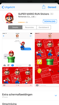 Apple Apple iPhone 6 Plus iOS 10 - iOS features - Stuur een iMessage - Stap 19
