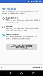Sony Xperia X Dual SIM (F5122) - Email - Configurar a conta de Email -  21
