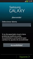 Samsung Galaxy S4 Mini - Primeros pasos - Activar el equipo - Paso 2