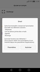 Huawei Nova - E-mail - 032c. Email wizard - Outlook - Étape 5