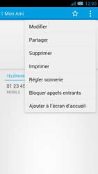 Bouygues Telecom Bs 471 - Contact, Appels, SMS/MMS - Ajouter un contact - Étape 8