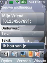 Nokia 7210 supernova - MMS - Afbeeldingen verzenden - Stap 11