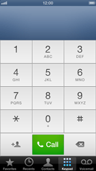 Apple iPhone 5 - Voicemail - Manual configuration - Step 6