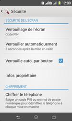 Sony Xpéria E1 Dual - Sécuriser votre mobile - Activer le code de verrouillage - Étape 11
