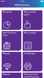 Apple iPhone 6 iOS 10 - Applications - MyProximus - Étape 15