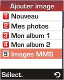Samsung E330 - MMS - envoi d'images - Étape 8