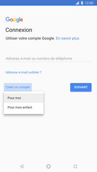 Nokia 8 Sirocco - Applications - Créer un compte - Étape 5