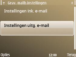 Nokia E72 - E-mail - Handmatig instellen - Stap 25