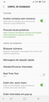 Samsung Galaxy S9 - Chamadas - Como bloquear chamadas de um número específico - Etapa 7