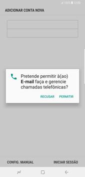 Samsung Galaxy Note 8 - Email - Adicionar conta de email -  9